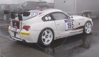 BMW Z4 VLN racecar in the mist | Drive-by Snapshots by Sebastian Motsch (2013)