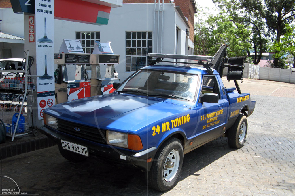 Ford Cortina Bakkie Tow Truck Conversion | Drive-by Snapshots by Sebastian Motsch (2007)