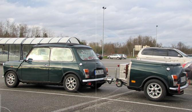 Mini Mk1 with Trailer | Drive-by Snapshots by Sebastian Motsch (2010)