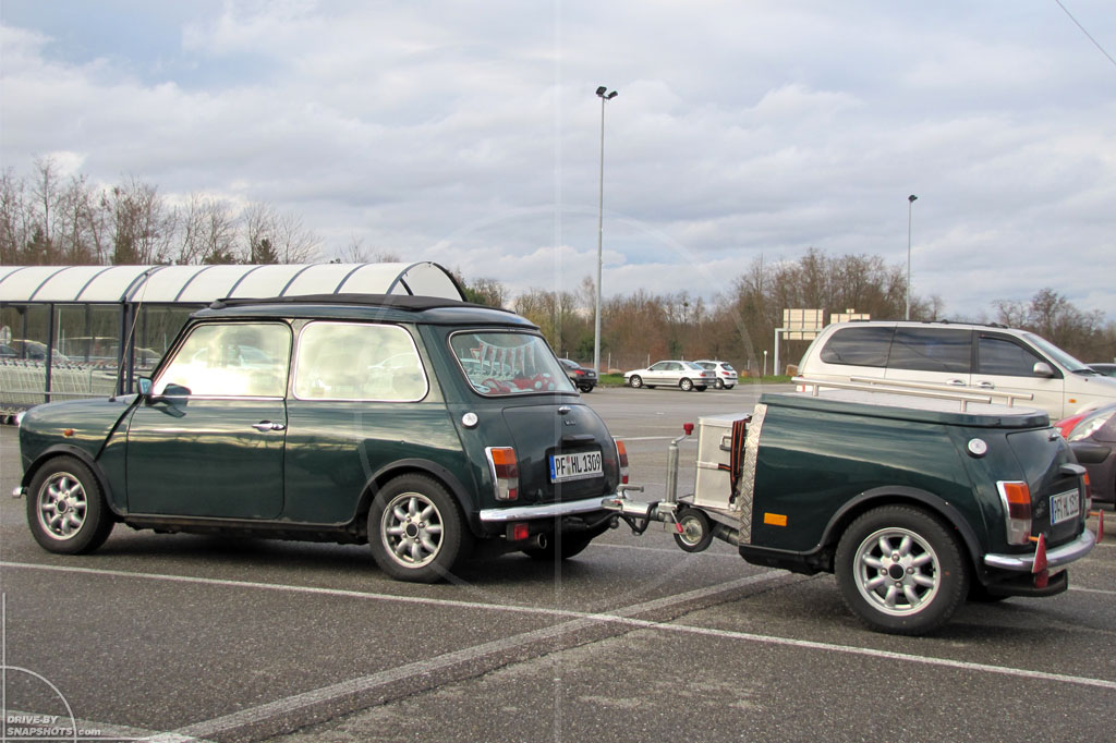 Mini Mk1 with Trailer | Drive-by Snapshots by Sebastian Motsch (2010)