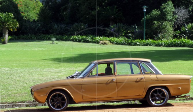 Triumph 2500TC Capetown | Drive-by Snapshots by Sebastian Motsch (2012)