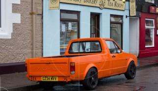 Volkswagen Caddy Mk1 Tobermory   Drive-by Snapshots by Sebastian Motsch (2013)