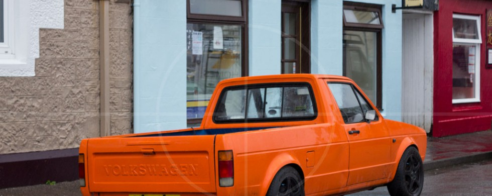 Volkswagen Caddy Mk1 Tobermory | Drive-by Snapshots by Sebastian Motsch (2013)