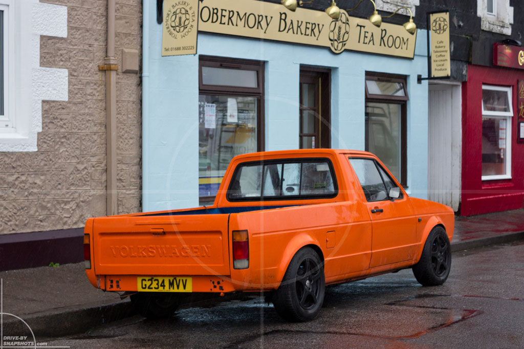 Volkswagen Caddy Mk1 Tobermory | Drive-by Snapshots by Sebastian Motsch (2013)
