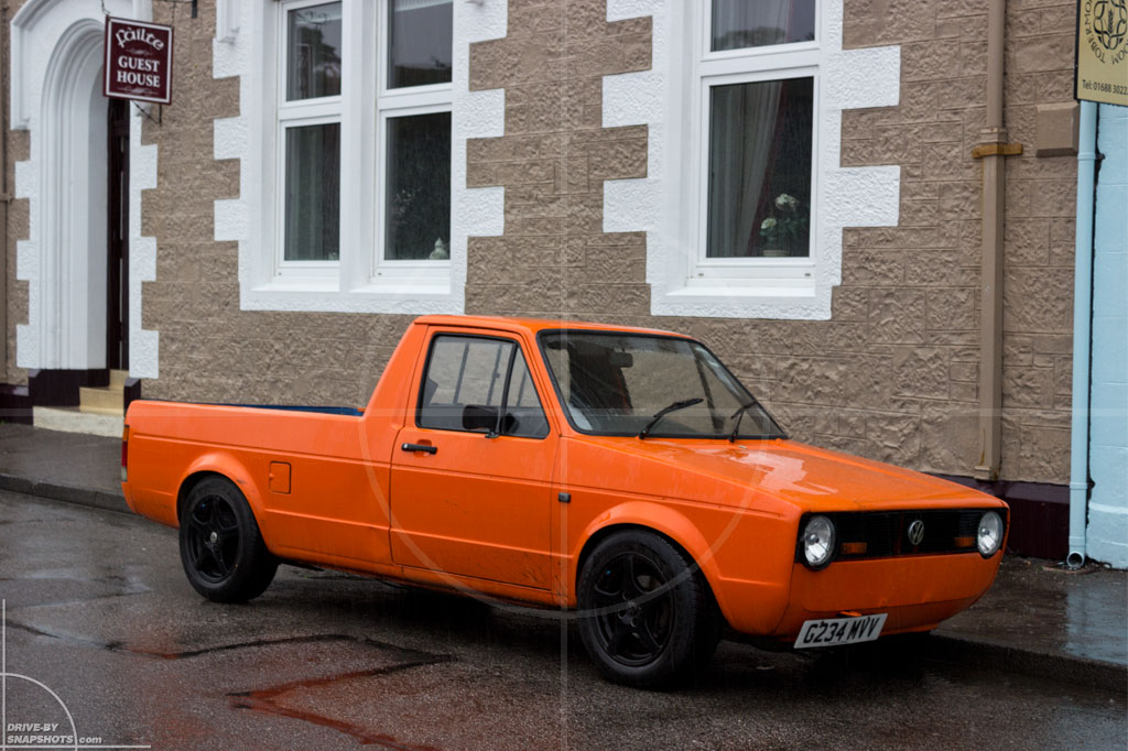 Volkswagen Caddy Mk1 Tobermory 01 | Drive-by Snapshots by Sebastian Motsch (2013)