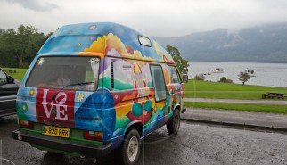 Volkswagen T3 Camper Colorful Scotland | Drive-by Snapshots by Sebastian Motsch (2013)