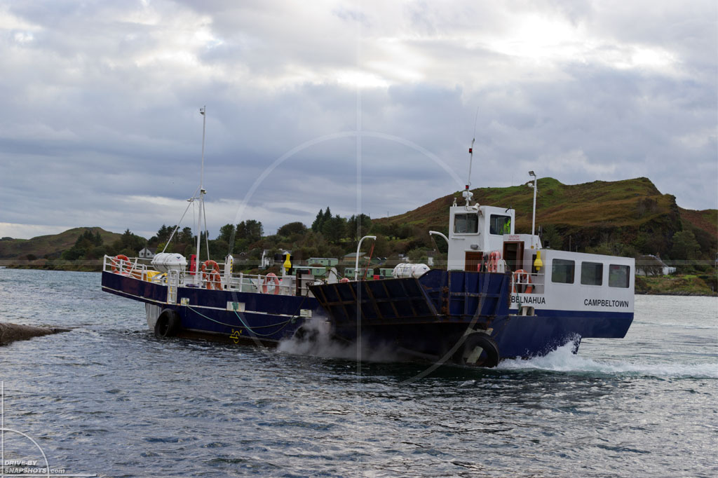 Luing Cuan Ferry Scotland | Drive-by Snapshots by Sebastian Motsch (2013)