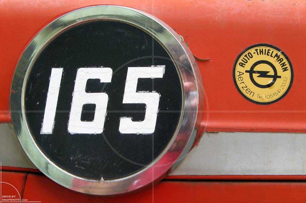 Massey Ferguson 165 | Drive-by Snapshots by Sebastian Motsch (2007)