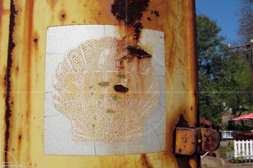 Vintage Shell Petrol Pump   Drive-by Snapshots by Sebastian Motsch (2007)