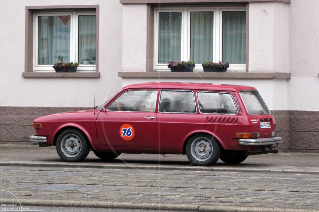 Volkswagen 412 Variant   Drive-by Snapshots by Sebastian Motsch (2010)