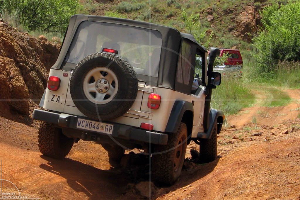 Jeep Wrangler Kallies Quarry | Drive-by Snapshots by Sebastian Motsch (2008)
