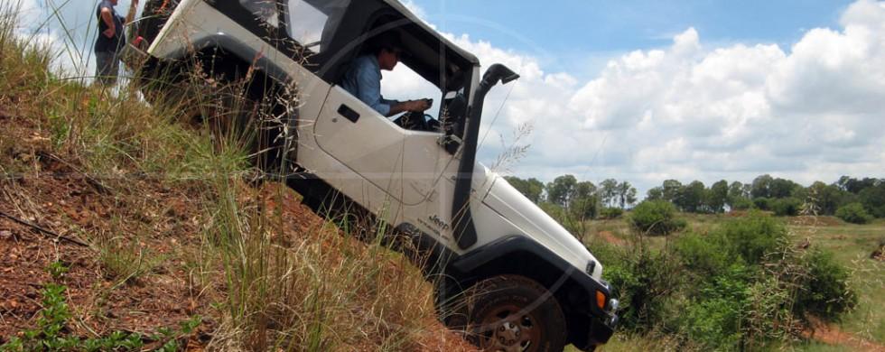 Jeep Wrangler Kallies Quarry | Drive-by Snapshots by Sebastian Motsch (2008)