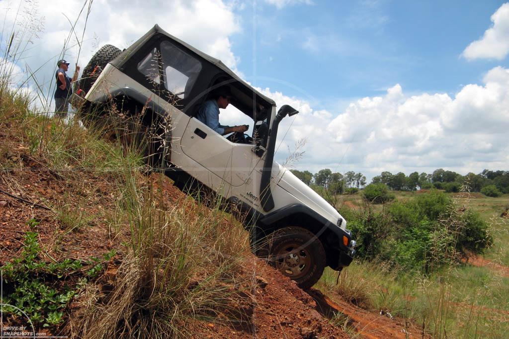 Jeep Wrangler Kallies Quarry   Drive-by Snapshots by Sebastian Motsch (2008)