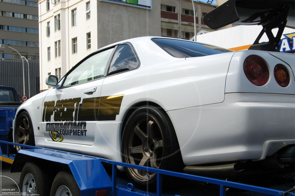 Nissan Skyline Gt R Top Secret R34 Drive By Snapshots
