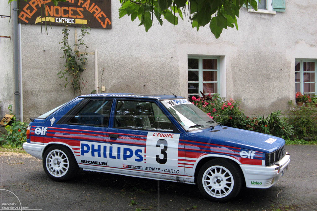 Renault 11 Turbo Replica Of A Rallye Legend Drive By