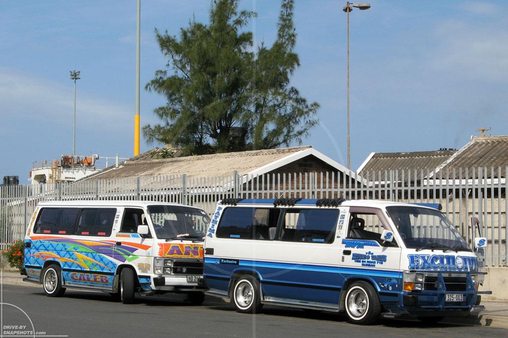 Toyota Hiace Siyaya Taxi | Drive-by Snapshots by Sebastian Motsch (2008)