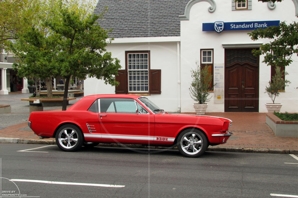 Ford Mustang 1965 Franshoek | Drive-by Snapshots by Sebastian Motsch (2012)
