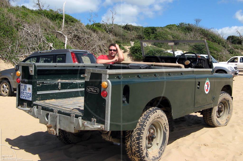 Land Rover Series III Sodwana Bay | Drive-by Snapshots by Sebastian Motsch (2007)