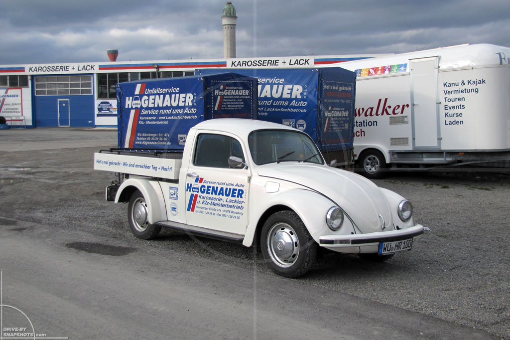 Volkswagen Beetle Pick-up   Drive-by Snapshots by Sebastian Motsch (2011)