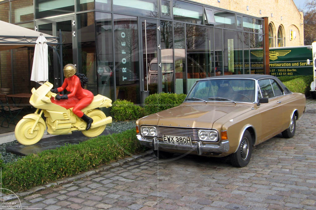 BMW Motorcycle Sculpture Berlin | Drive-by Snapshots by Sebastian Motsch (2009)