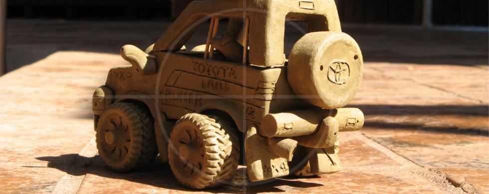 Toyota LandCruiser Clay 4x4 | Drive-by Snapshots by Sebastian Motsch (2007)