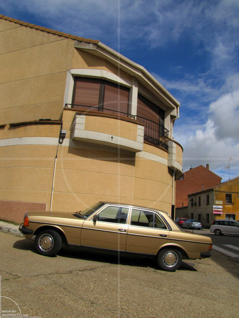Mercedes-Benz W123 Golden Brown | Drive-by Snapshots by Sebastian Motsch (2013)