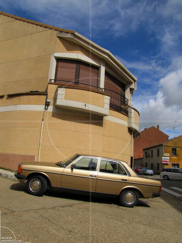 Mercedes-Benz W123 Golden Brown | Drive-by Snapshots by Sebastian Motsch (2013)