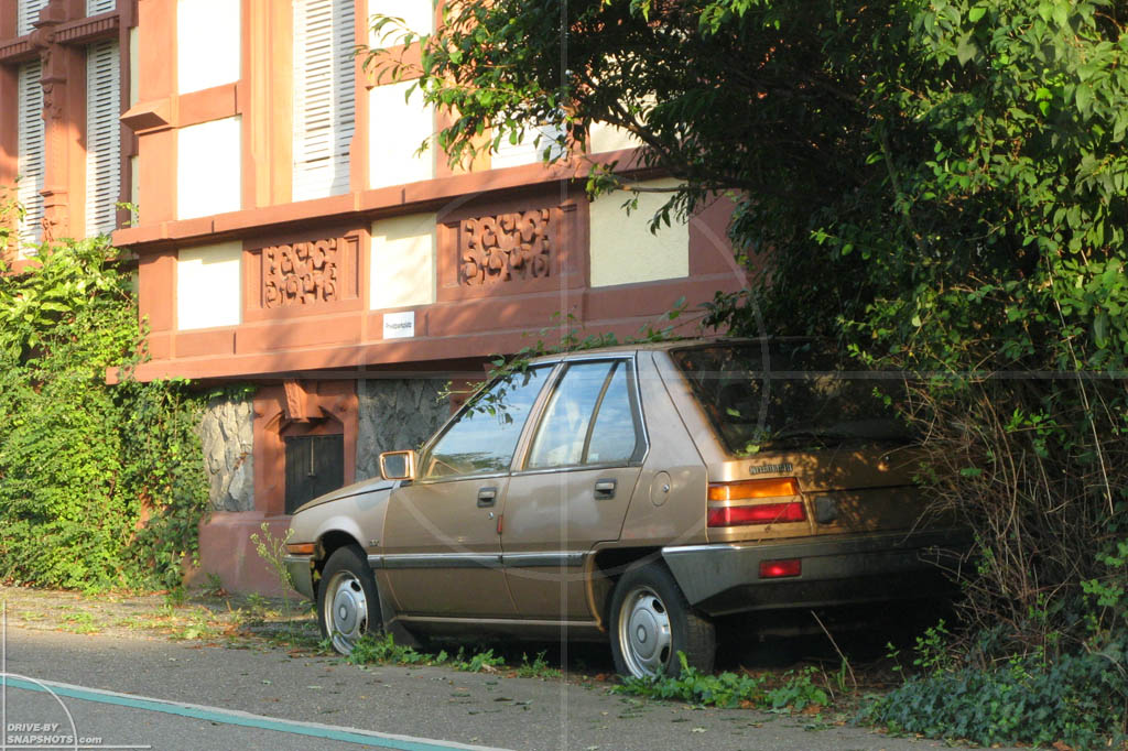 Mitsubishi Colt Mk2 Golden Brown | Drive-by Snapshots by Sebastian Motsch (2011)