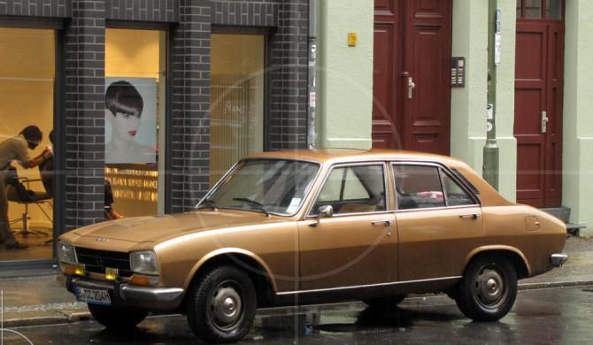 Peugeot 504 Golden Brown | Drive-by Snapshots by Sebastian Motsch (2012)