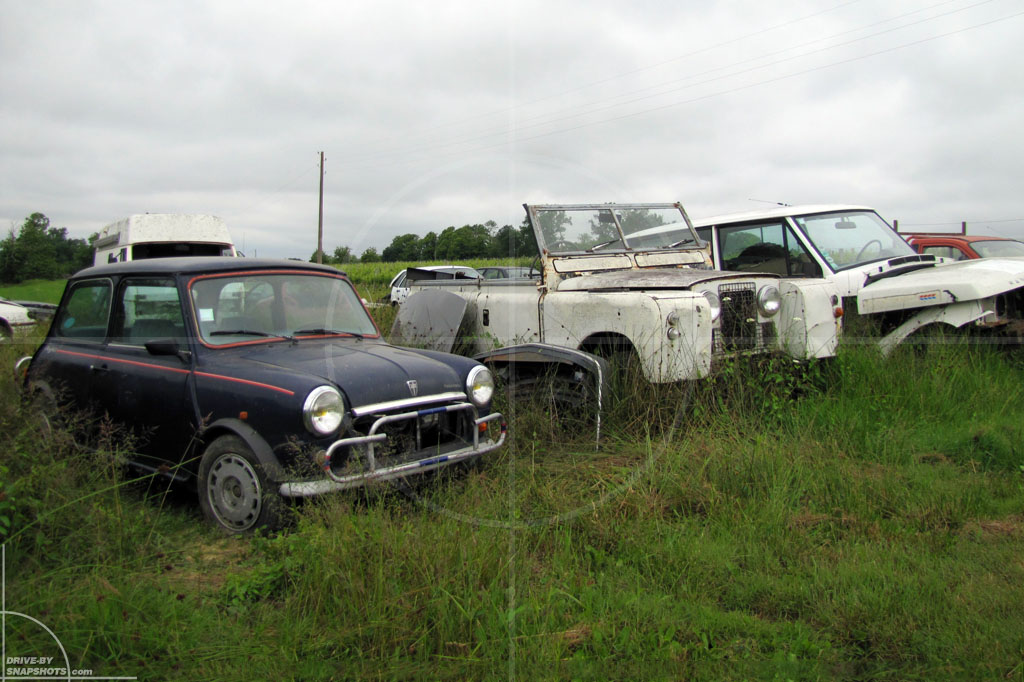 Rust in Peace British Heritage in France | Drive-by Snapshots by Sebastian Motsch (2010)