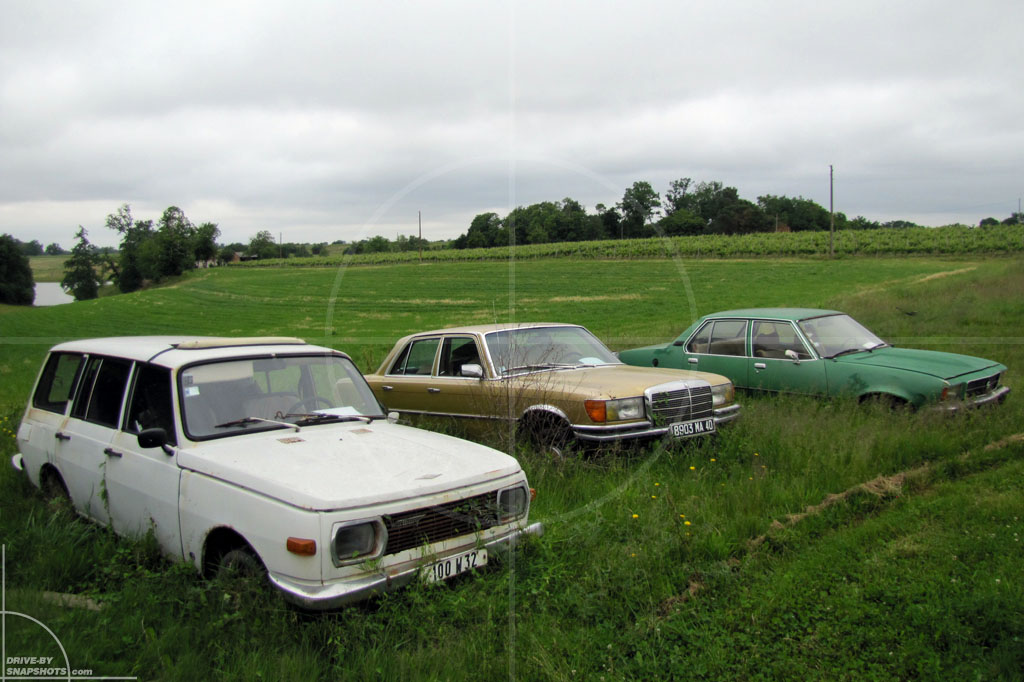 Rust in Peace Germans in France | Drive-by Snapshots by Sebastian Motsch (2010)