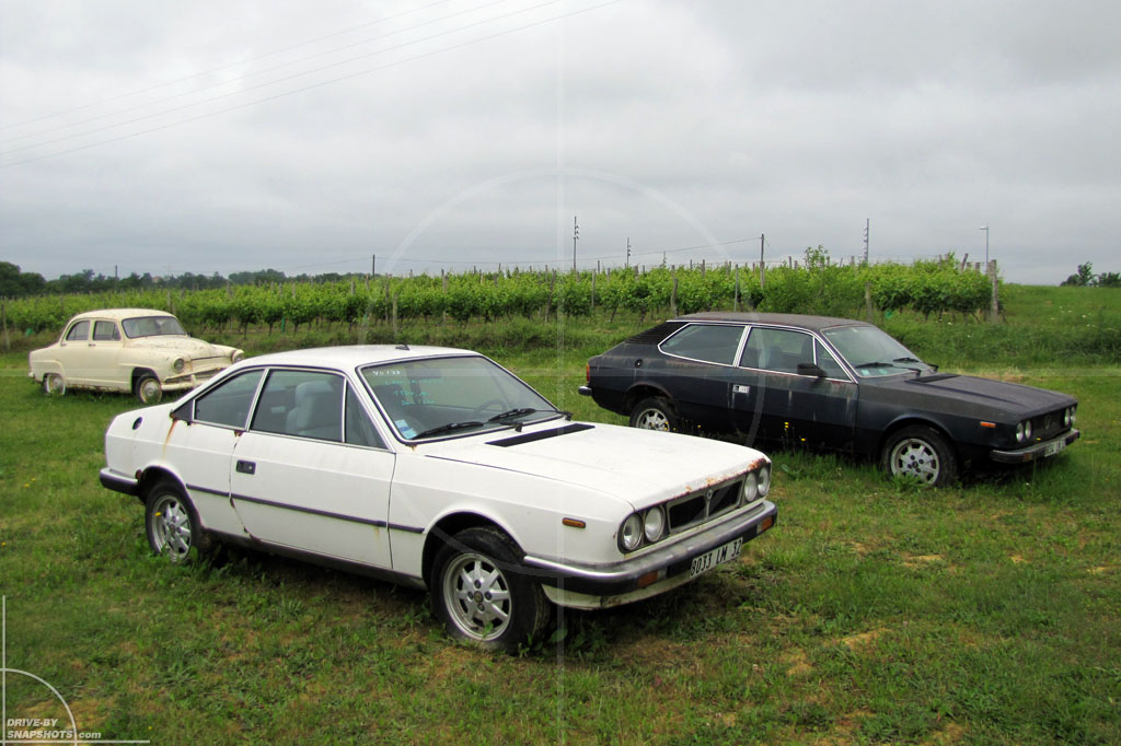 Rust in Peace Italians in France | Drive-by Snapshots by Sebastian Motsch (2010)