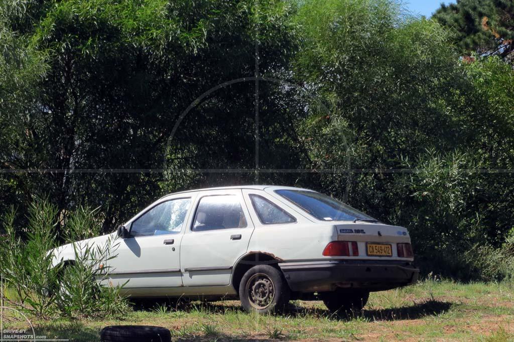 Parked under a tree in ZA Ford Sierra Mk1   Drive-by Snapshots by Sebastian Motsch (2012)