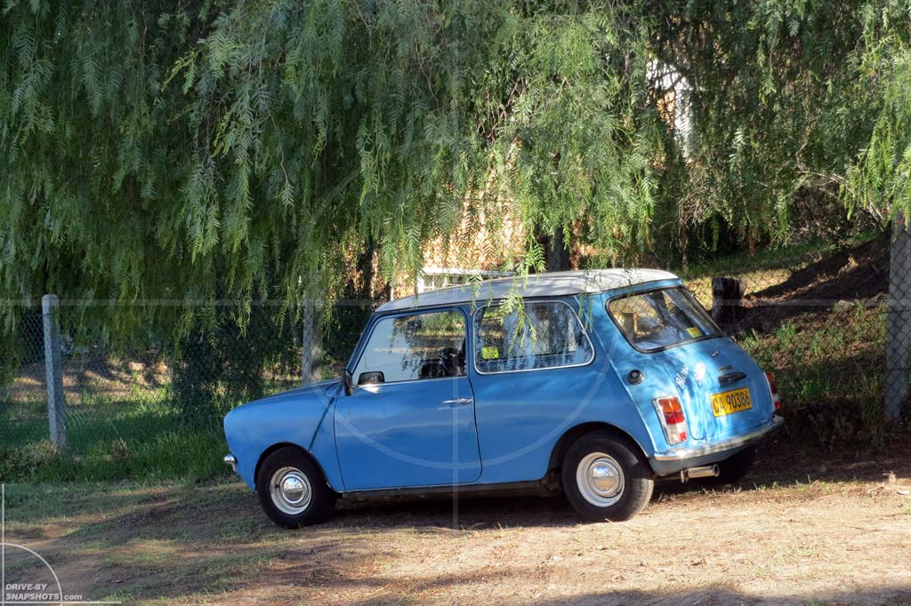 Parked under a tree in Mini Mk1  Drive-by Snapshots by Sebastian Motsch (2012)