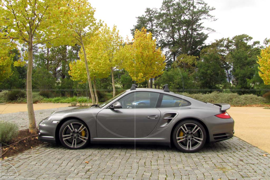 Parked under a tree in Porsche 911 997   Drive-by Snapshots by Sebastian Motsch (2012)