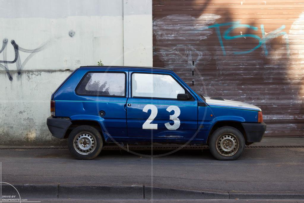 FIAT Panda Mk1 Véhicule sans permis | Drive-by Snapshots by Sebastian Motsch (2014)