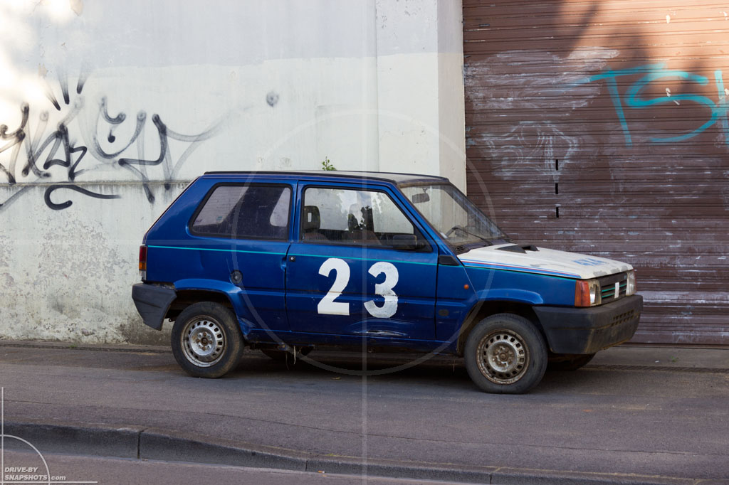 FIAT Panda Mk1 Véhicule sans permis   Drive-by Snapshots by Sebastian Motsch (2014)
