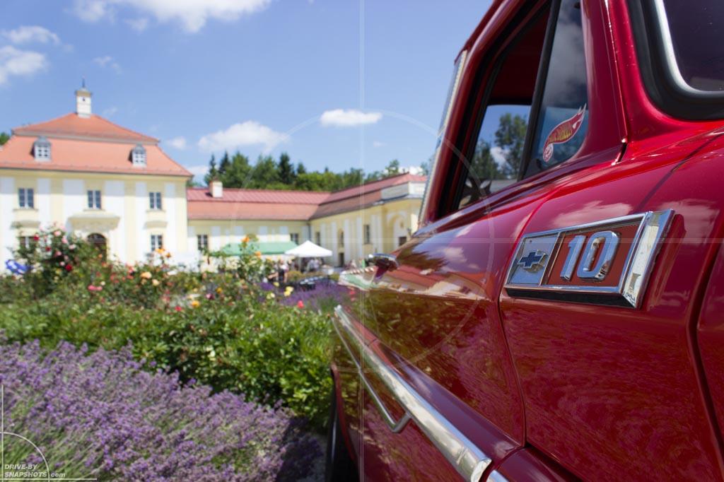 Passau Classic Car Day 2014 Details Chevrolet C10 Custom | Drive-by Snapshots by Sebastian Motsch (2014)