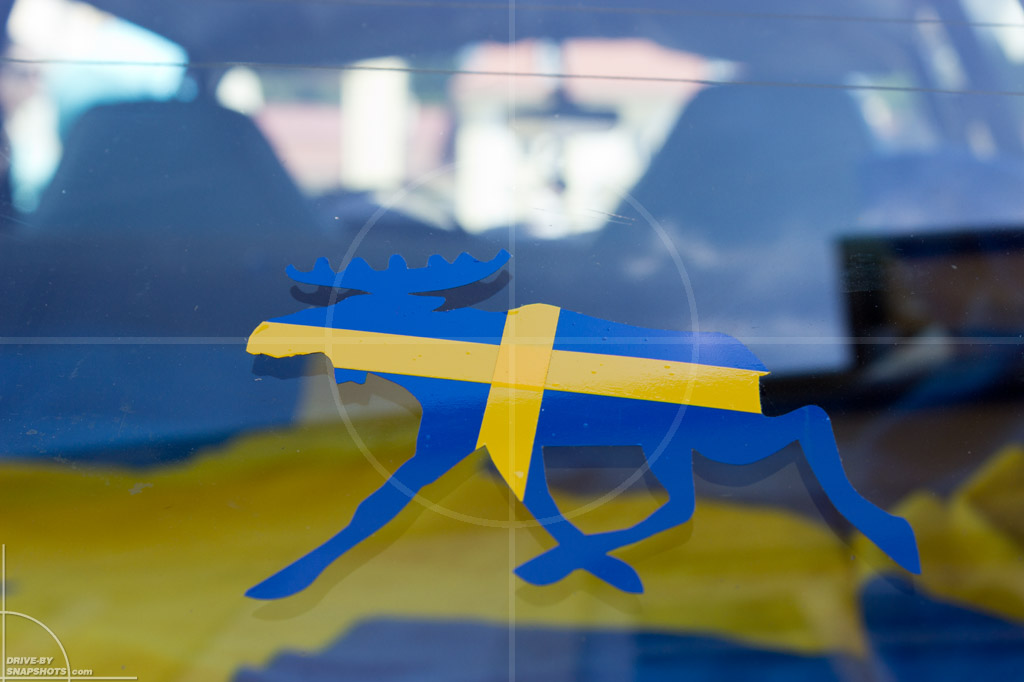 Passau Classic Car Day 2014 Details Volvo P1800 | Drive-by Snapshots by Sebastian Motsch (2014)