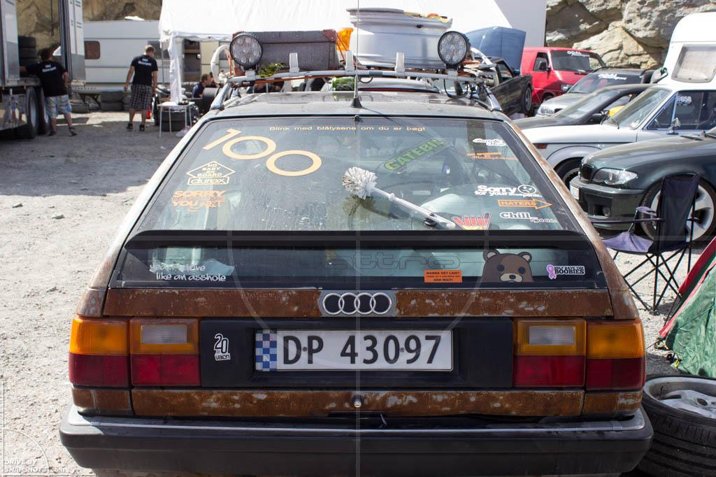 Audi 100 Avant C3 Norway 2014 | Drive-by Snapshots by Sebastian Motsch (2014)