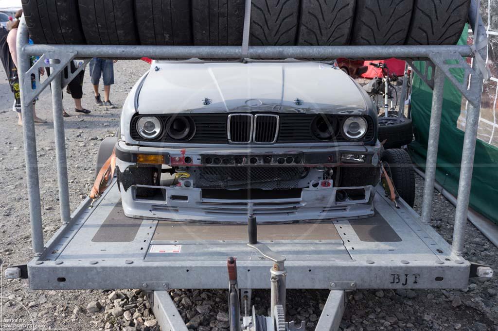 BMW E30 Drifter on Trailer Norway 2014   Drive-by Snapshots by Sebastian Motsch (2014)