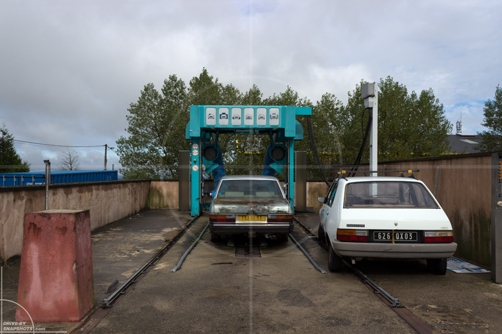Station Service Ouverte France | Drive-by Snapshots by Sebastian Motsch (2013)