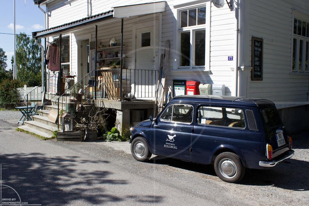 Autobianchi Giardinera Swartskog Kolonial Norway | Drive-by Snapshots by Sebastian Motsch (2014)