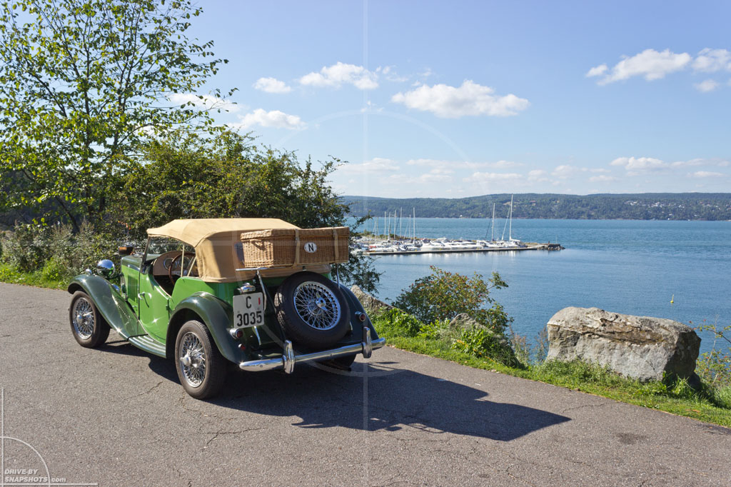 MG TF Norge Oslofjord 2014 | Drive-by Snapshots by Sebastian Motsch (2014)