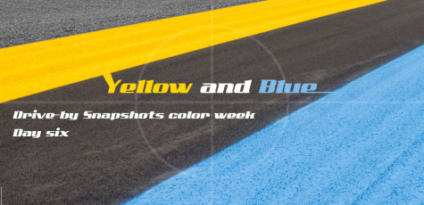 DBS Color Week Yellow and Blue Day 6