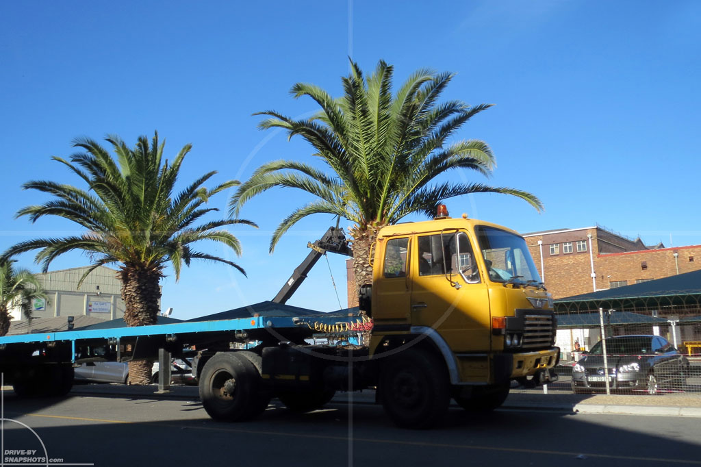 dbs Yellow and Blue Hino Semi Truck ZA | Drive-by Snapshots by Sebastian Motsch (2014)
