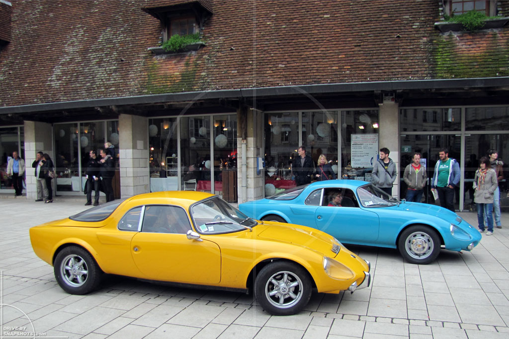 dbs Yellow and Blue Matra Bonnet | Drive-by Snapshots by Sebastian Motsch (2014)