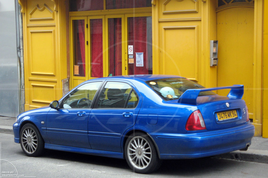 dbs Yellow and Blue Rover 75 MG ZT | Drive-by Snapshots by Sebastian Motsch (2014)
