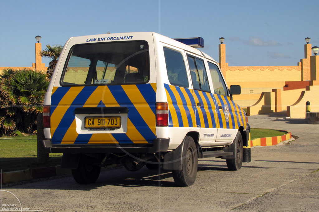 dbs Yellow and Blue Toyota Condor Law Enforcement ZA | Drive-by Snapshots by Sebastian Motsch