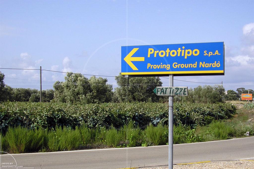 dbs yellow and blue Proving Ground Nardò | Drive-by Snapshots by Sebastian Motsch (2014)